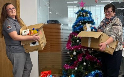 UNITED PLANT TEAM SUPPORTS LOCAL FOOD BANK THIS CHRISTMAS