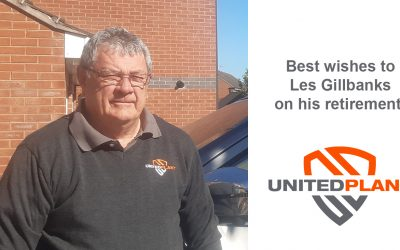 LES GILLBANKS RETIRES FROM UNITED PLANT